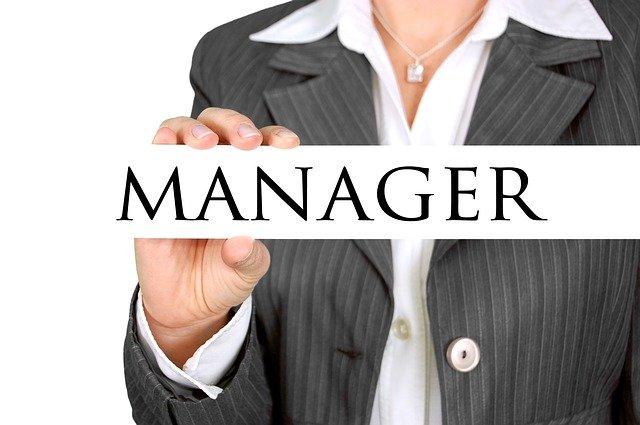manažerka