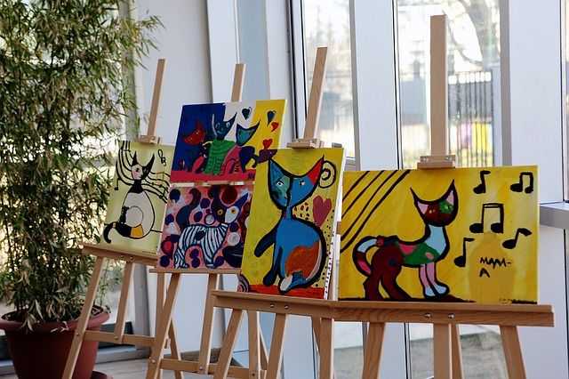 galerie s obrazy koček
