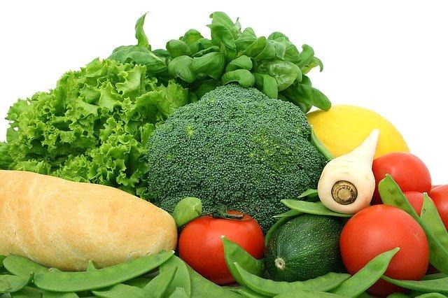 pestrý výběr zeleniny