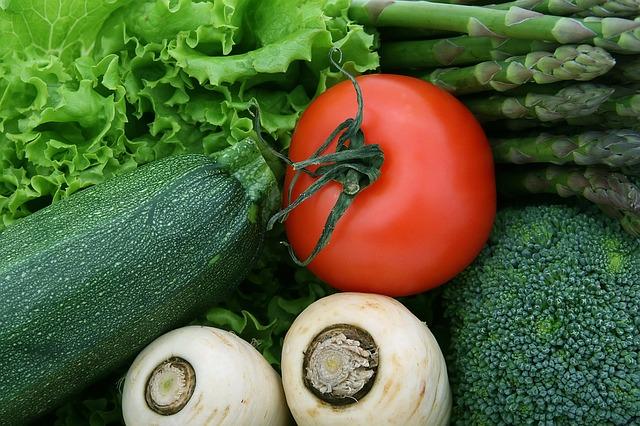 zelenina v detailu