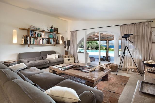 prostorný obývák