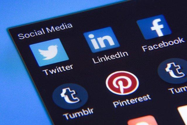 ikony sociálních sítí
