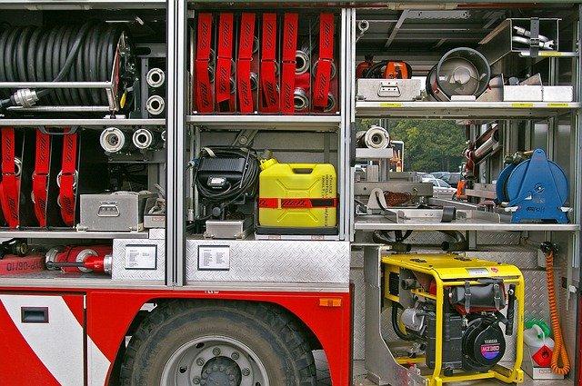 hasičské pomůcky