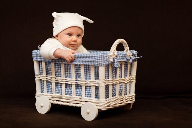 dítě ve vozíku