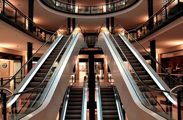 eskalátor v centru
