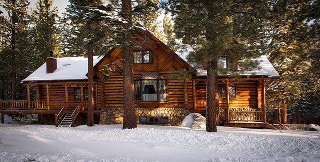 velká dřevostavba
