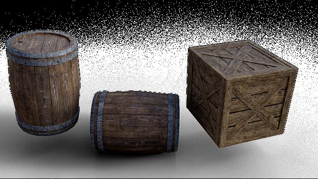 dřevěné boxy v různém provedení