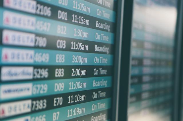 letištní tabule